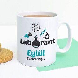 - Laborantlar için İsimli Kupa Bardak
