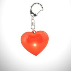 - LED Işıklı Kalp Atışı Anahtarlık