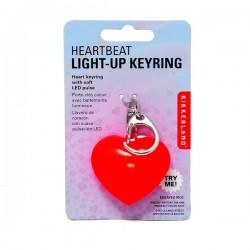 LED Işıklı Kalp Atışı Anahtarlık - Thumbnail