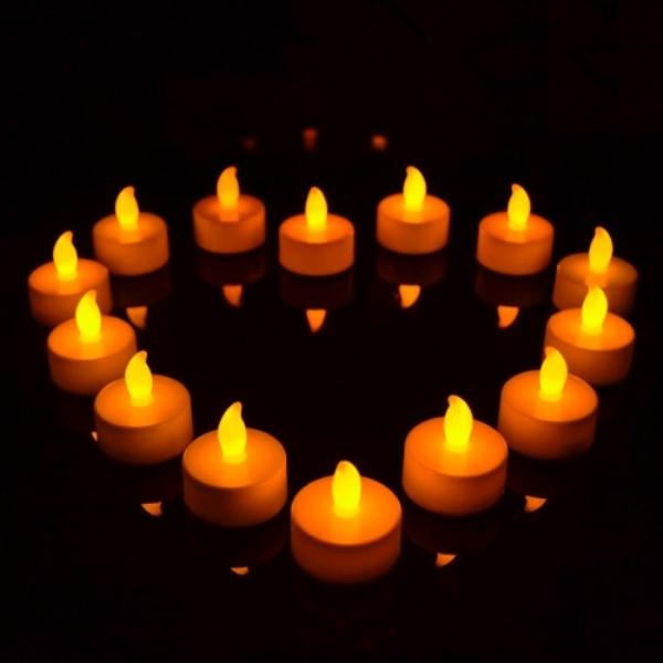 LED Işıklı Mumlar