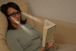LED Işıklı Kitap Okuma Gözlüğü - Thumbnail