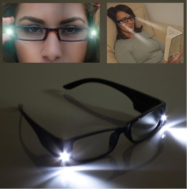 LED Işıklı Kitap Okuma Gözlüğü