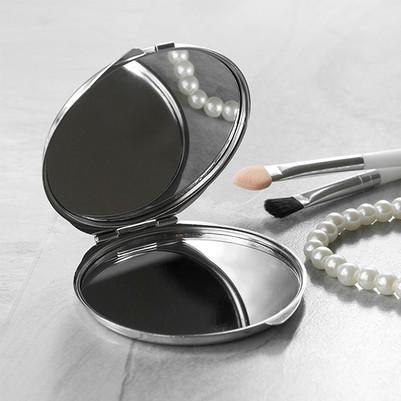 Leopar Tasarımlı İsimli Makyaj Aynası - Thumbnail