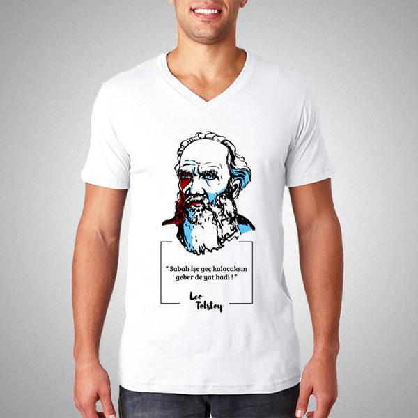 Lev Tolstoy Esprili Tişört