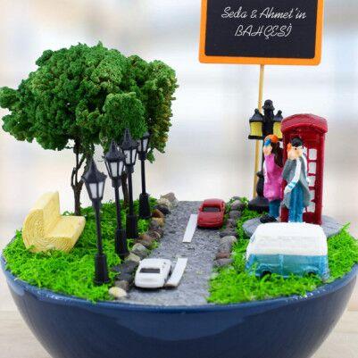 Londra Temalı Minyatür Bahçe - Thumbnail
