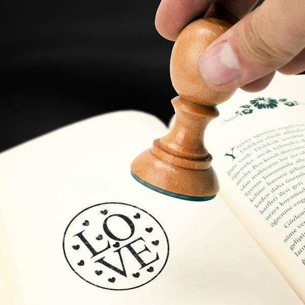 Love Kitap Damgası
