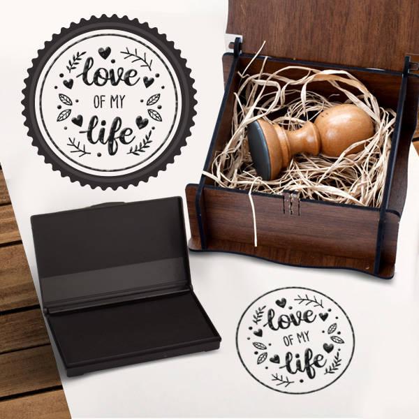 Love Of My Life Kitap Mührü