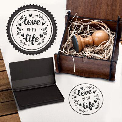 Love Of My Life Kitap Mührü - Thumbnail
