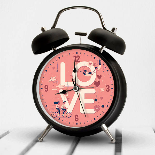 Love Romantik Çalar Saat