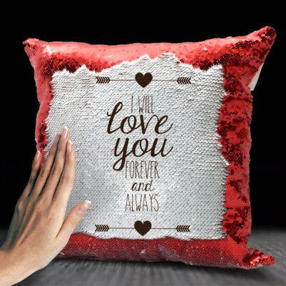 Love Sevgililere Özel Sihirli Yastık - Thumbnail