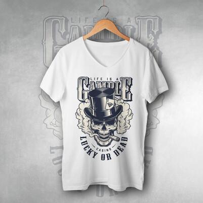 - Lucky Or Dead Unisex Tişört