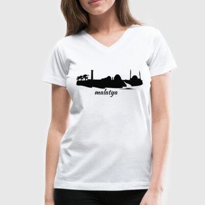 - Malatya Baskılı Tişört Bayanlara Özel