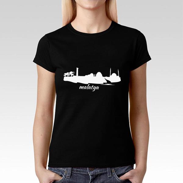 Malatya Baskılı Tişört Bayanlara Özel