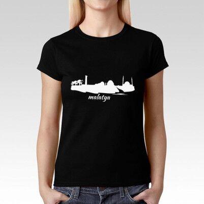 Malatya Baskılı Tişört Bayanlara Özel - Thumbnail