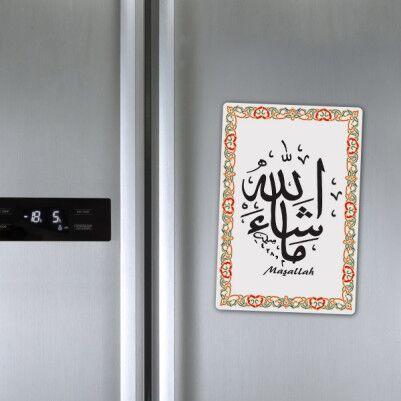 - Maşallah Yazılı Buzdolabı Magneti