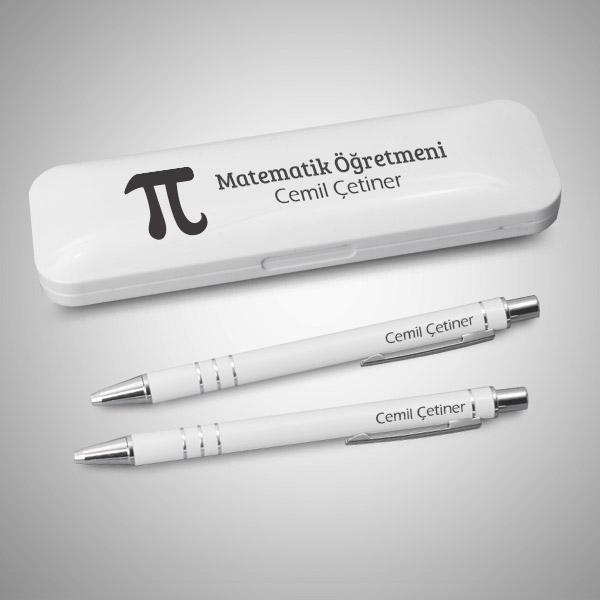 Matematik Öğretmenine Hediye Kalem