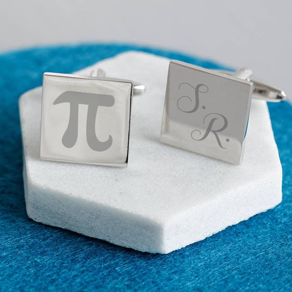 Matematik Öğretmenine Hediye Kol Düğmeleri