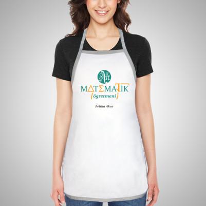 - Matematik Öğretmenine Hediye Mutfak Önlüğü