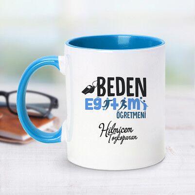 - Mavi Kupa Bardak Beden Öğretmenlerine Özel