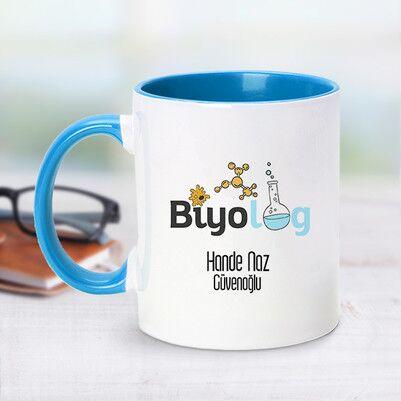 - Mavi Kupa Bardak Biyologlara Özel