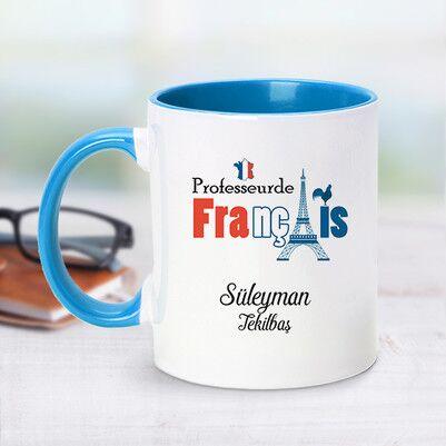 - Mavi Kupa Bardak Fransızca Öğretmenlerine Özel