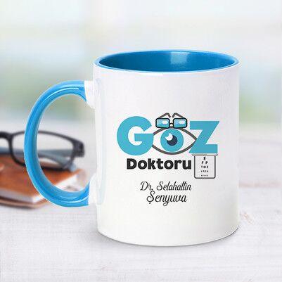 - Mavi Kupa Bardak Göz Doktorları Özel