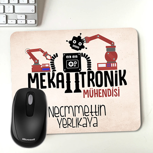 Mekatronik Mühendisine Hediye Mousepad
