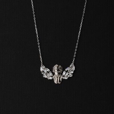 - Melek Bebeğim 925 Ayar Gümüş Kolye