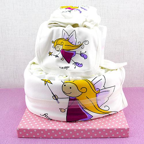 Melek Kızım Bebek Bezi Pastası