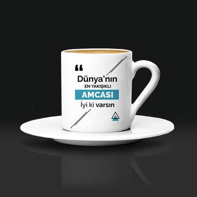 Mesajlı Amcaya Hediye Kahve Fincanı - Thumbnail