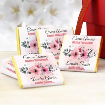 - Mesajlı Anneler Günü Çikolatası