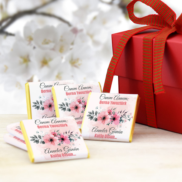 Mesajlı Anneler Günü Çikolatası