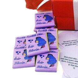 Mesajlı Özür Dilerim Çikolatası - Thumbnail