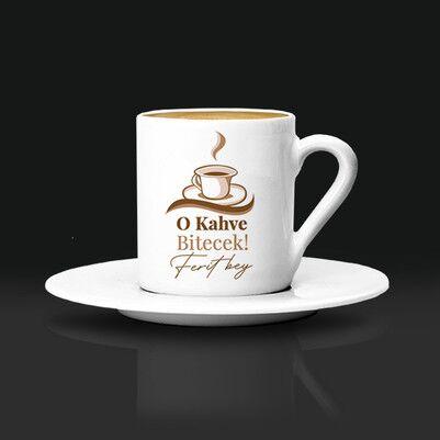 - Mesajlı ve İsme Özel Kahve Fincanı