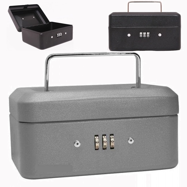 Metal Case - Şifreli Metal Kasa