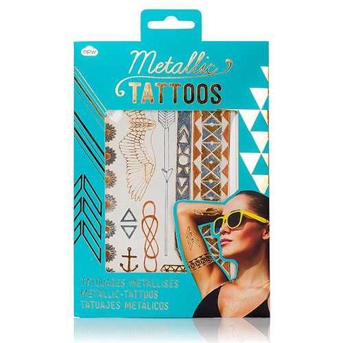 Metallic Tattoos - Geçici Metalik Dövmeler