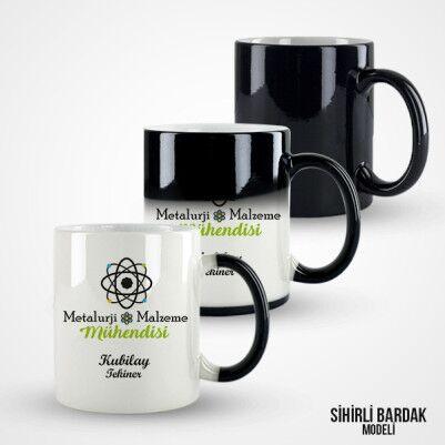 Metalurji Mühendislerine Özel Kupa Bardak - Thumbnail