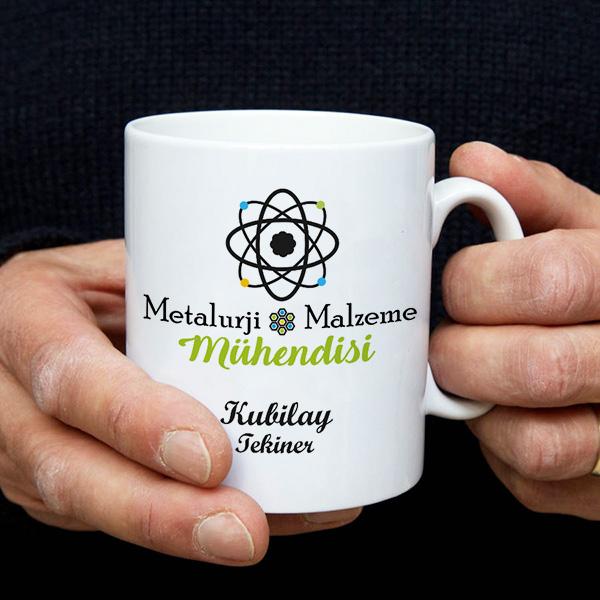 Metalurji Mühendislerine Özel Kupa Bardak