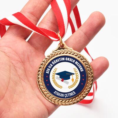 - Mezun İlkokul Öğrencisi Madalyonu