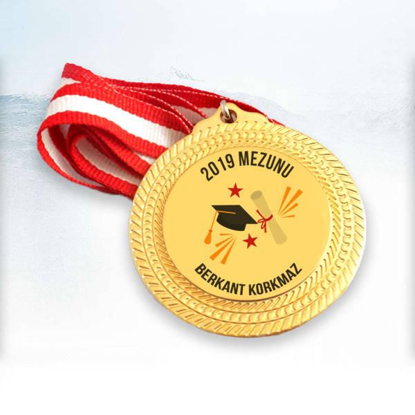 Mezun Öğrenciye Hediye Madalyon