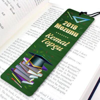 - Mezuniyet Hediyesi Kitap Okuma Ayracı
