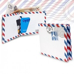 Mighty Wallet Air Mail - İkon Cüzdanlar - Thumbnail