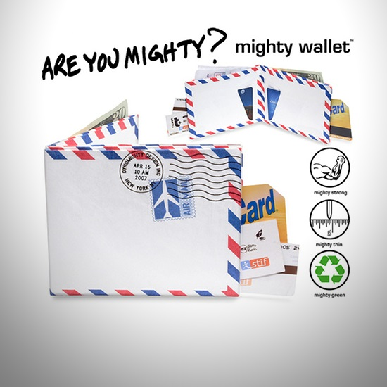 Mighty Wallet Air Mail - İkon Cüzdanlar