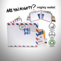 Mighty Wallet Air Mail - İkon Cüzdanlar