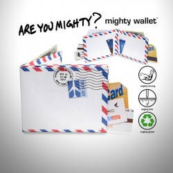 - Mighty Wallet Air Mail - İkon Cüzdanlar