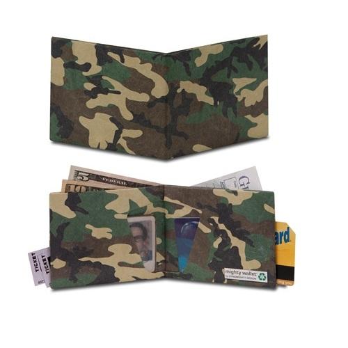 Mighty Wallet Camo - İkon Cüzdanlar