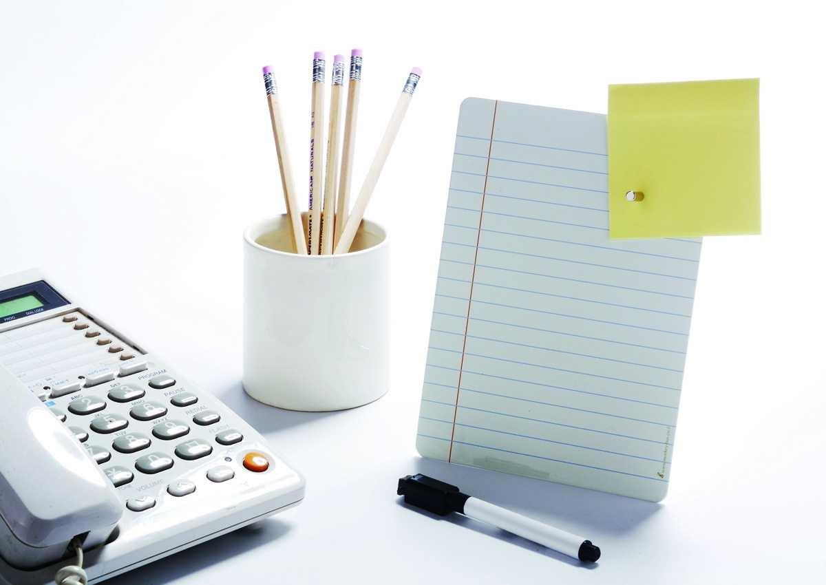 Mıknatıslı Masaüstü Not tahtası