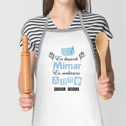 - Mimar Annelere Özel Mutfak Önlüğü