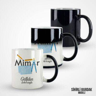 Mimarlara Özel Hediyelik Kahve Kupası - Thumbnail