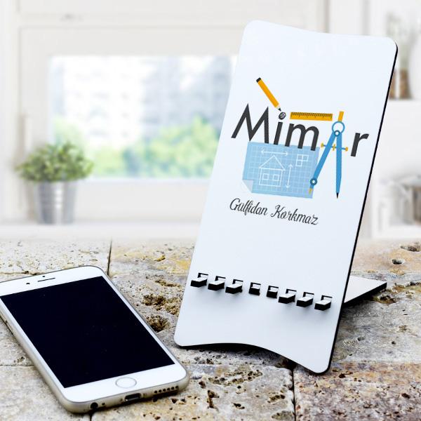 Mimarlara Özel Hediyelik Telefon Standı